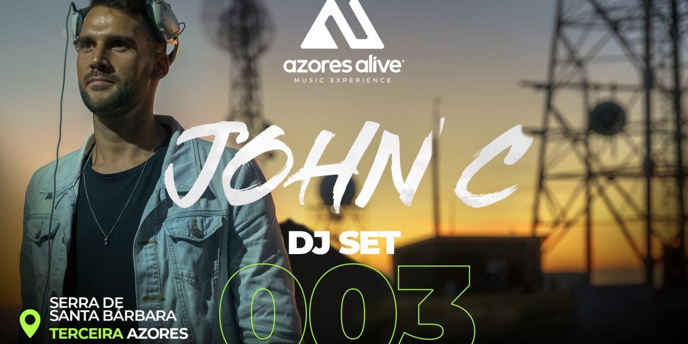 #003 DJ SET / JOHN C @ Serra de Santa Bárbara, Terceira